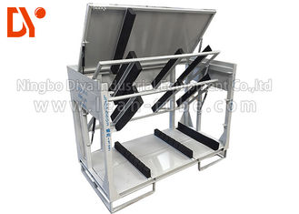 Turn Over Workshop Tool Trolley Anti Static Dostosowany rozmiar Cold Pressing / Rolling