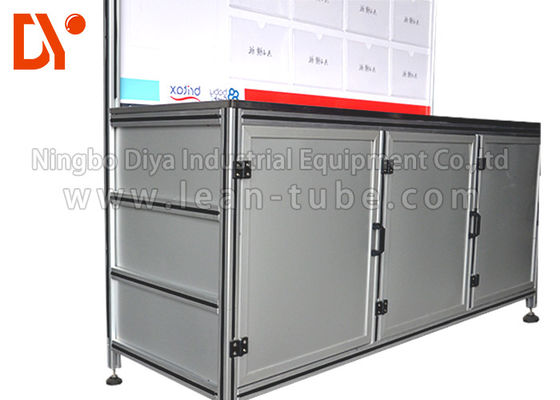 Industrial Aluminium Profile Workbench Equipment Anti-Corrosion Custom Size